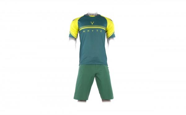 Trail MTB Short Sleeve Green Jersey