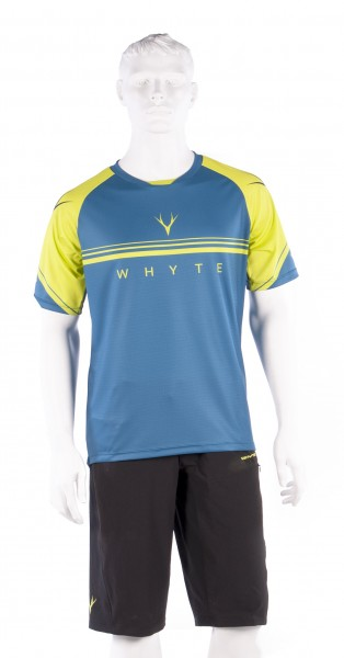 Trail MTB Short Sleeve Petrol Jersey
