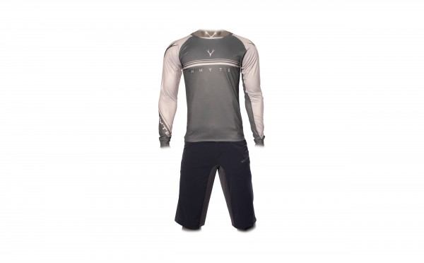 Trail MTB Long Sleeve Jersey Grey